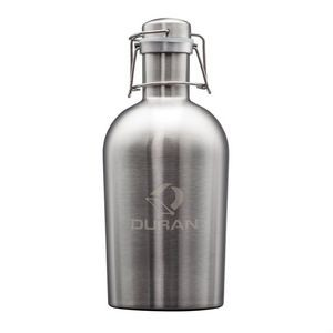 The Plymouth Classic Growler - 64oz Stainless Steel