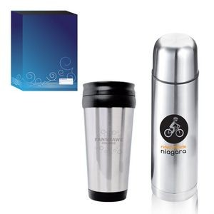 The On-the-Go Gift Set - Blue Sleeve